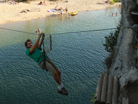 Accrobranche - ADVENTURE CAMP